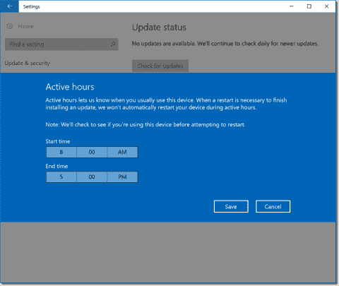 Disable updates in Windows 10 1607 (Anniversary Update) using Group Policy