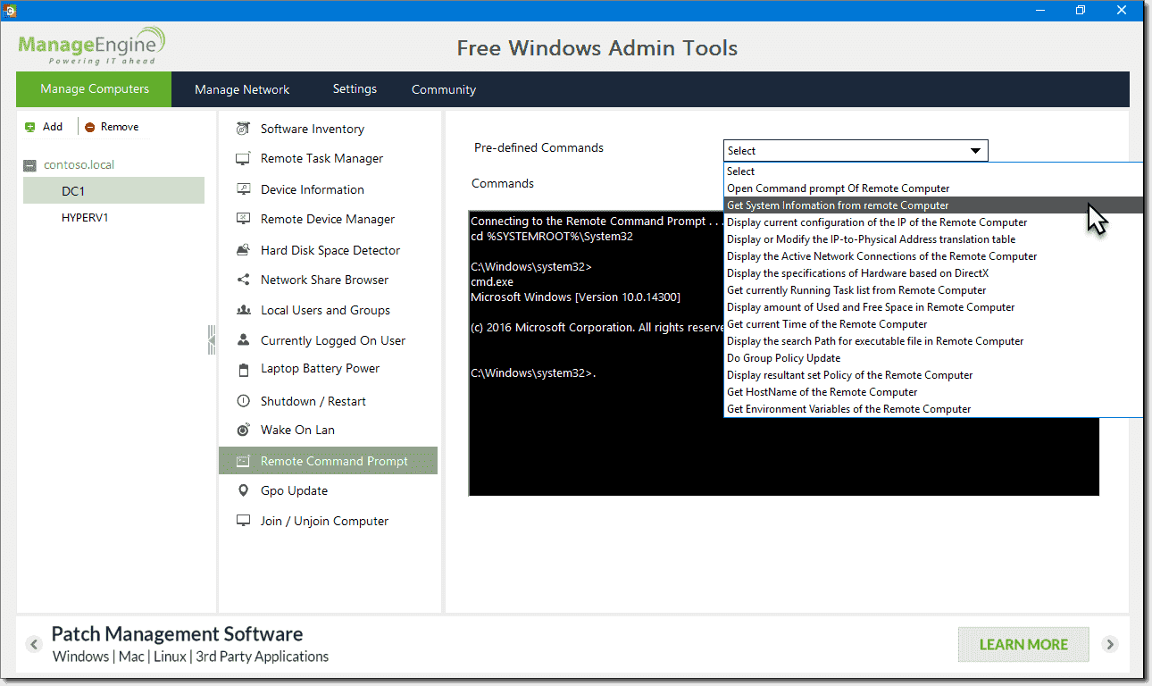 Free Windows Admin tools – 4sysops