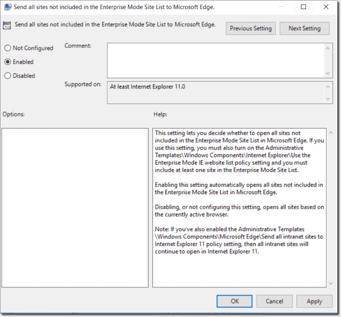 New Group Policy settings in Windows 10 1607 – 4sysops