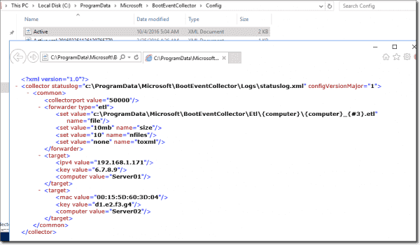 Updated active.xml file