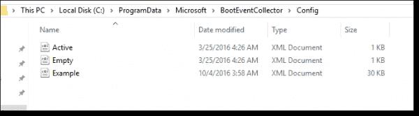 XML configuration files