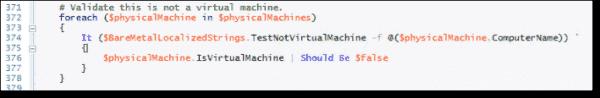 Enable installation on VM