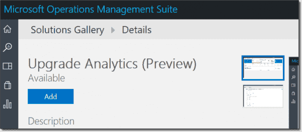 Getting started in Operations Management Suite
