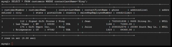 MySQL – run basic query