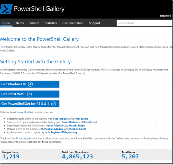 PowerShell Gallery