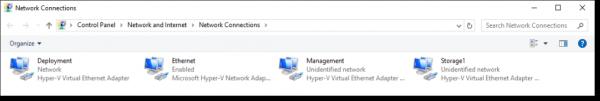 vNICs for host machine