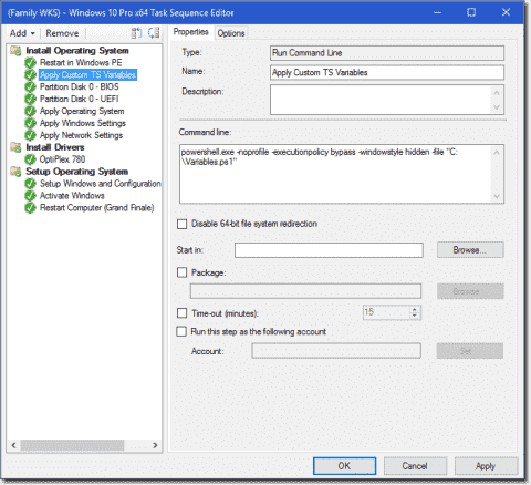 Image deployment with SCCM and static IPs