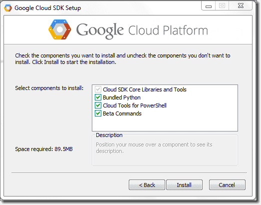 Cloud tools setup add beta commands