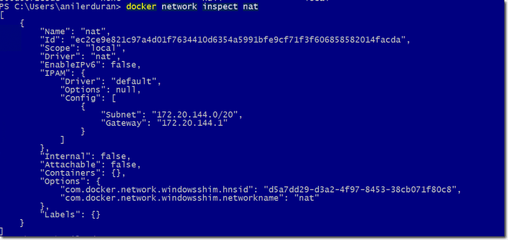 Windows Container networking – Part 1: Configuring NAT – 4sysops