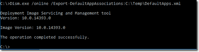 Default File Associations in Windows 10 – 4sysops