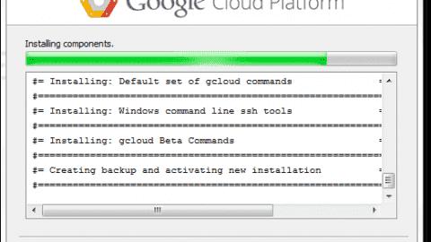 Google cloud SDK setup details