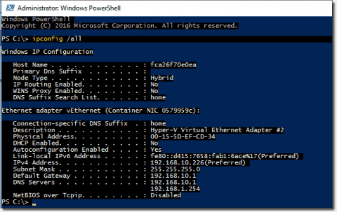 Windows Docker networking – Part 2: Custom network types