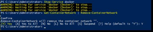 Preparing Docker service for Docker config file changes