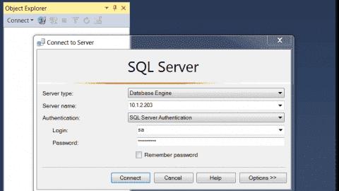 SSMS connect to mssql server on Ubuntu