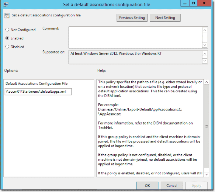 Default File Associations In Windows 10 4sysops