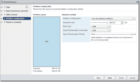 VMware vSphere 6.5 and VMFS 6
