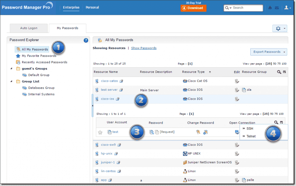 ManageEngine Password Manager Pro – Keep, protect, and