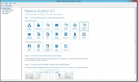 Netwrix Auditor for Active Directory: A visibility and governance platform