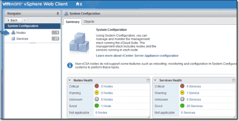 VMware single sign-on (SSO) with Active Directory