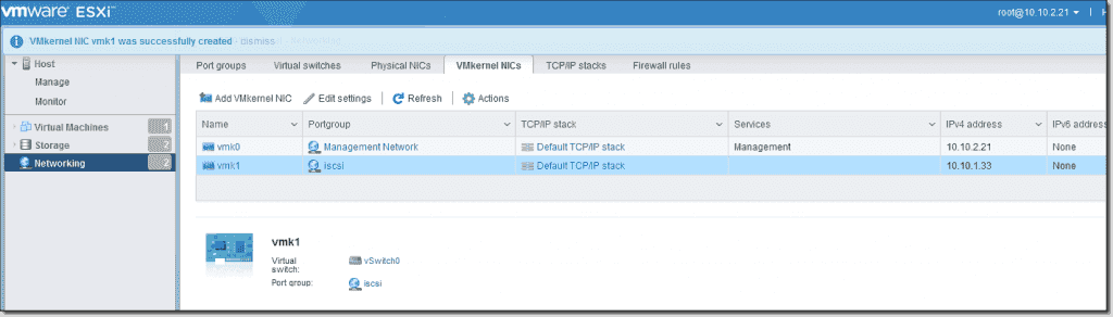 How to configure ESXi 6 5 for iSCSI Shared Storage – 4sysops