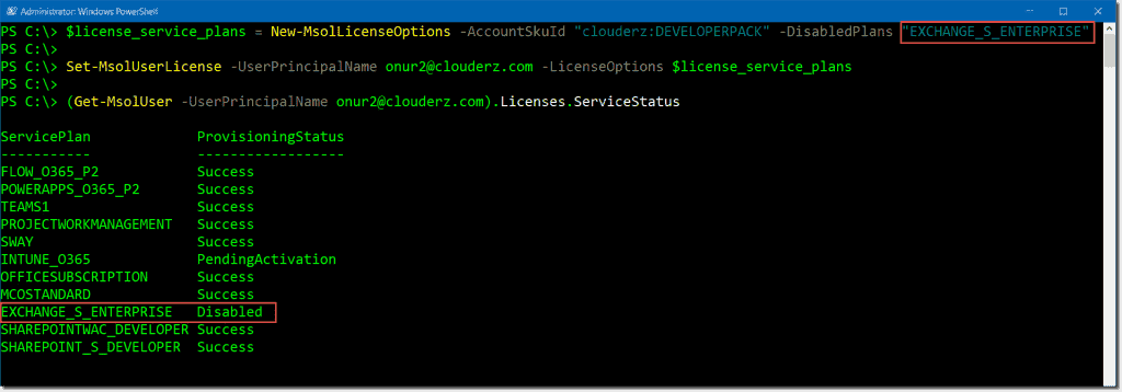 Manage Office 365 licenses with PowerShell – 4sysops