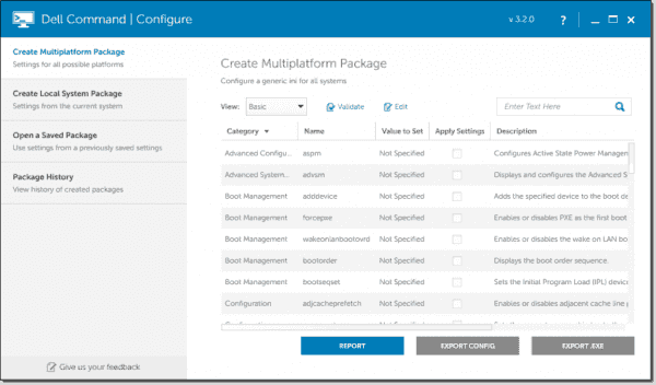 Dell Command | Configure Toolkit