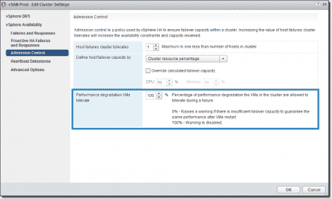 VMware vSphere 6.5 High Availability new features