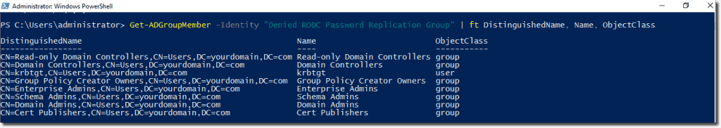 Deploying a Windows Server 2016 read-only domain controller (RODC