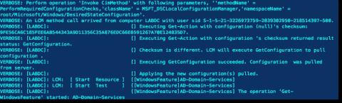 How to invoke an Azure Automation DSC configuration script
