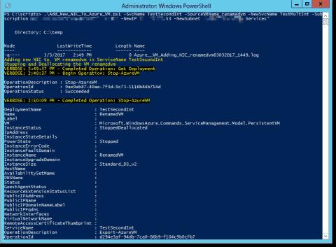 Add a network interface (NIC) to an Azure VM