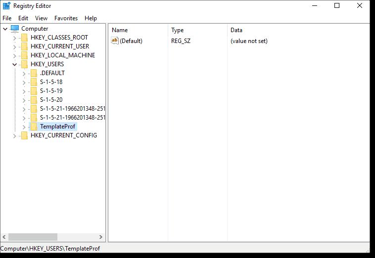 Create and deploy a Windows 10 roaming mandatory profile