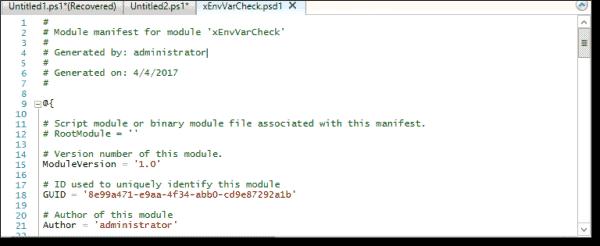 The module manifest