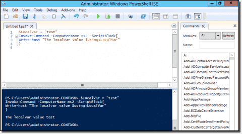 PsExec vs. the PowerShell remoting cmdlets Invoke-Command and Enter-PSSession