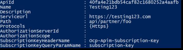 Created API