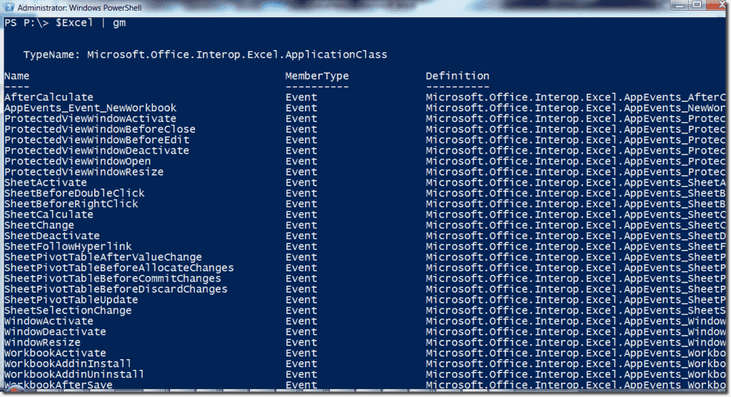 Excel macros with PowerShell – 4sysops
