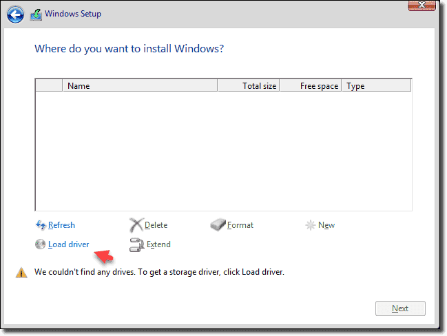 Windows Server 2016 VM with a VMware Paravirtual SCSI