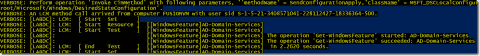 Creating an Active Directory domain with PowerShell DSC