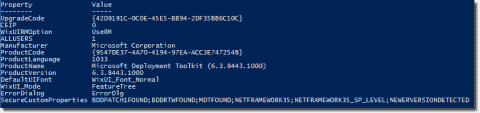 Managing MSI installations using the Windows Installer PowerShell module