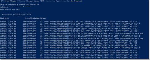 Capture network traces with the PowerShell module NetEventPacketCapture