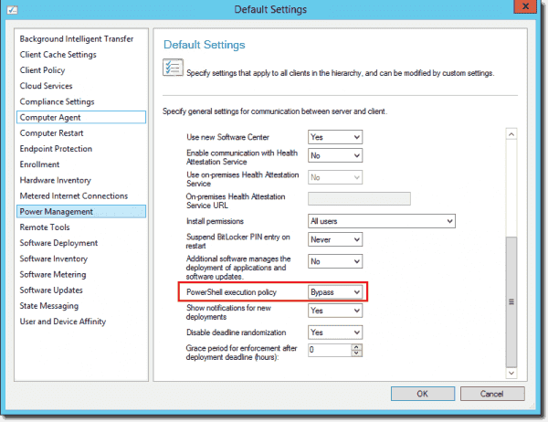 Configuring PowerShell execution policy