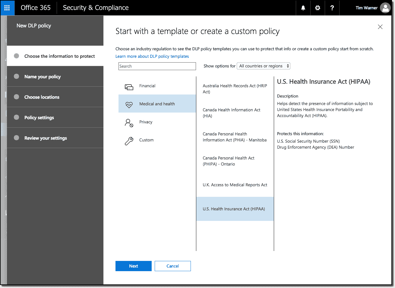 office 365 security and compliance center  u2013 4sysops