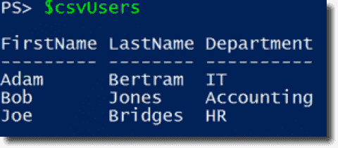 Sync CSV user data to Active Directory with PowerShell