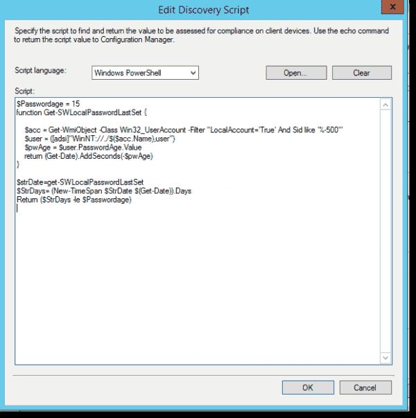 LAPS password age configuration item 3