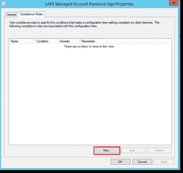 LAPS password age configuration item 4