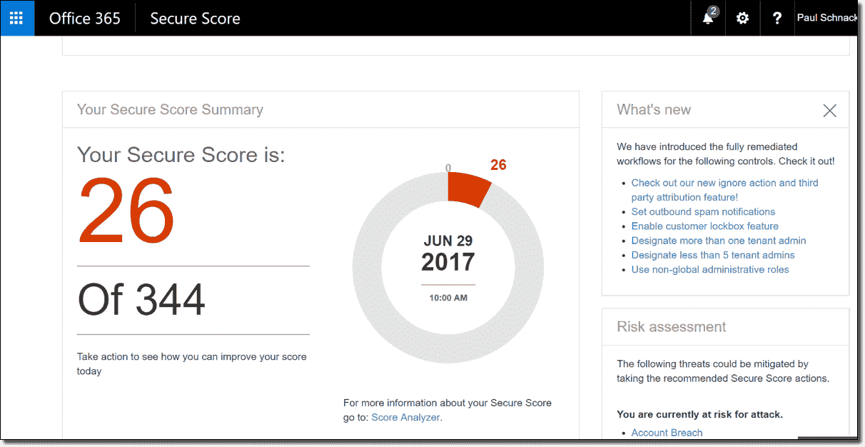 Office 365 Secure Score – Multi-factor authentication (MFA) – 4sysops