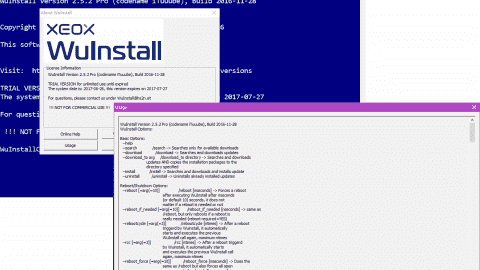 WuInstall - Command-line control over Windows updates