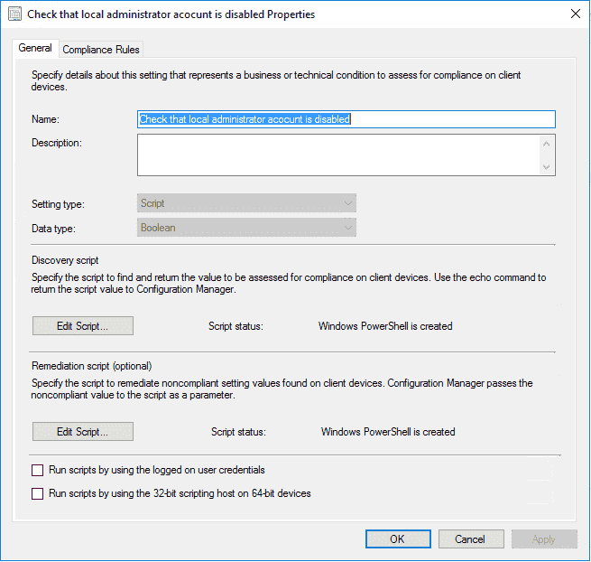 Disable the local administrator account with SCCM – 4sysops