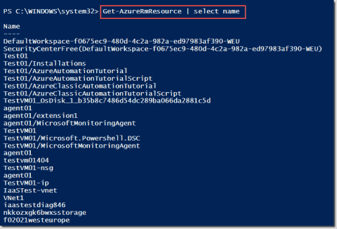 Report Azure resource usage with PowerShell