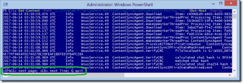 Parse log files with PowerShell