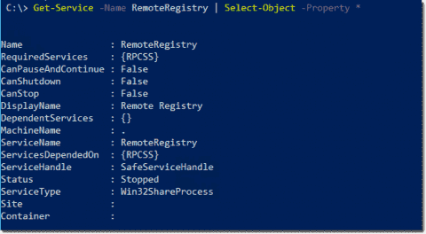 Monitoring Windows services with PowerShell